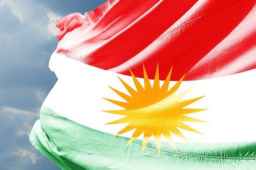 Kurdistan, Flag, Kobani, How, Syria, Iran, Turkiya