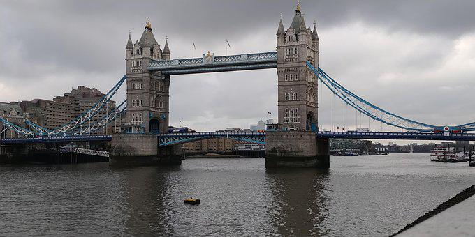 London Bridge, Tower Bridge, London, Architecture, Uk