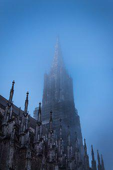 Main Tower, Pinnacles, Gothic, Münster, Ulm Cathedral