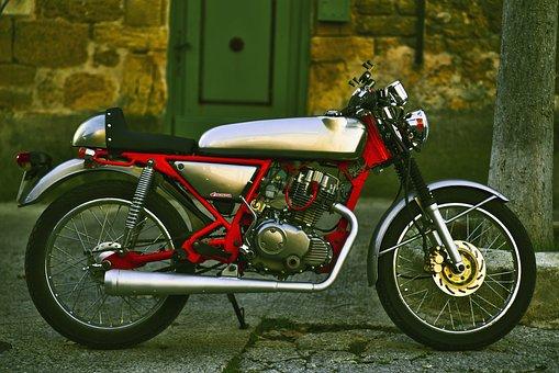 Motorcycle, Honda, Retro, Vehicle, Vintage, Transport