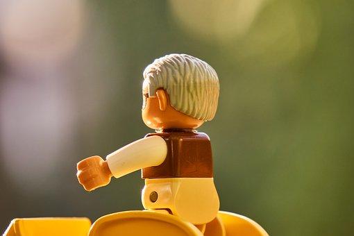 Figure, Toys, Lego, Duplo, Auto, Vehicle, Tractor