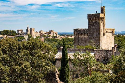 Fort Saint André, Castle, Middle Ages, Tower