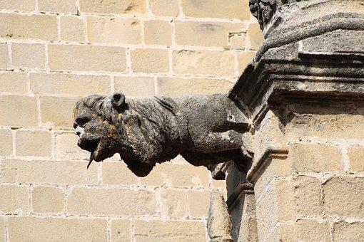 Jerez De La Frontera, Gargoyle, Cathedral, Church