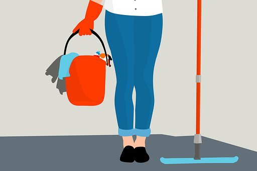 Housekeeping, Clean, Service, Floor, Mopping, Cleaner