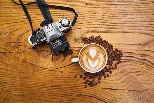 Coffee, Camera, Core, Table, Retro, Cup, Espresso