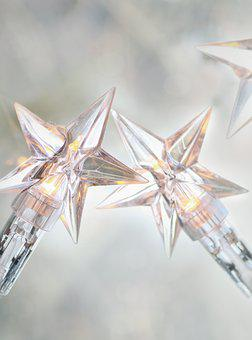 Star, Lights, Shining, Decoration, Lichterkette