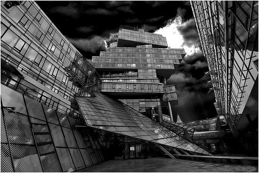 Building, Architecture, City, Window, Night, Design