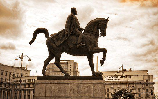 Statue, The Rider, Lord, Horse, Monument, Historic