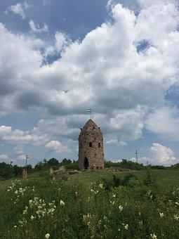 Anthropomorphic, Lookout Tower, Hungary, Sky