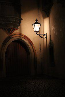 Door, Light, Night, Dark, Love, Apartment, Port