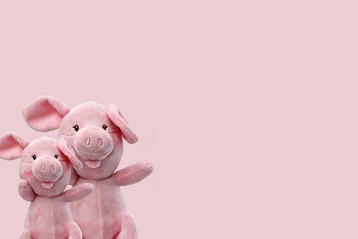 Luck, Lucky Pig, Pig, Pink, Piglet, New Year's Eve