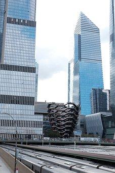Nyc, Manhattan, Vessel, Architecture, City