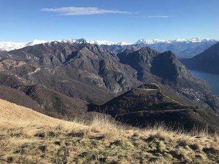 Panorama From Monte Boglia, The Lake Ceresio