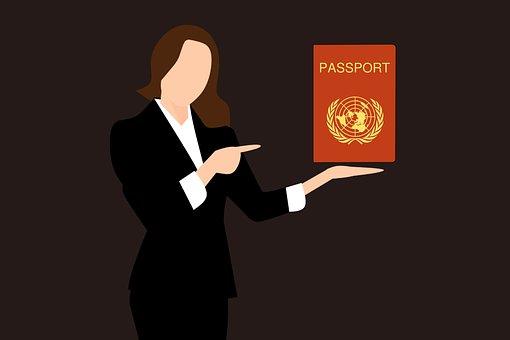 Passport Stamp, Travel, Passport Cover, Boarding Pass