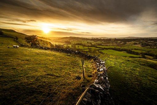 Hitter Hill, Peak District, Derbyshire, Sunrise