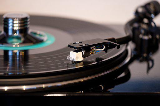 Turntable, Plate, Record, Vynil, Music, Analog, Pickup