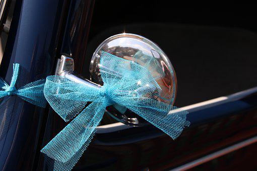 Car, Former, Ribbon, Collection, Rear View Mirror