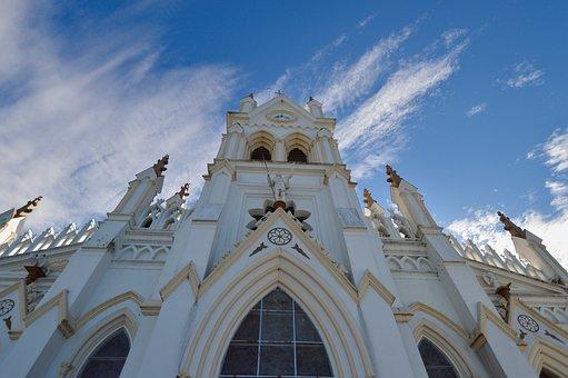 Costa Rica, Church, Architecture, Perspective, Religion