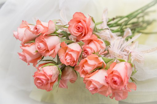 Flower, Bouquet, Rose, Memorial
