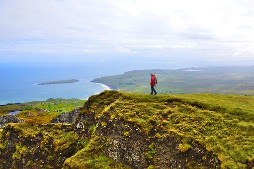 Isle Of Sky, Quiraing, Scotland, Nature, Hiking