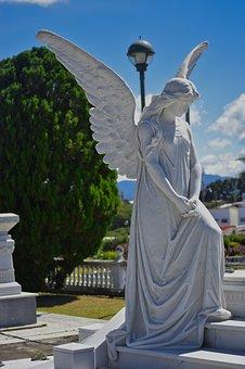 Costa Rica, Cemetery, Sculpture, Marble, Architecture