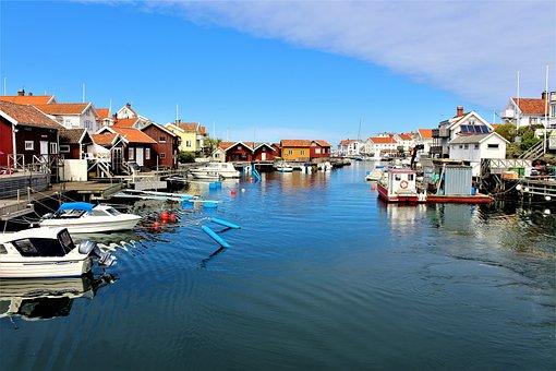 Sea, Water, House, Coastal, Landscapes, Summer, Horizon