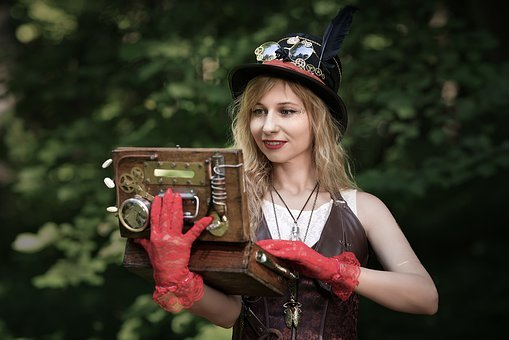Steampunk, Festival, Parabank, Cosplay, Costumes