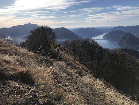 To The Monte Boglia, The Lake Ceresio, Alpine Route