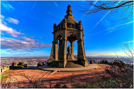 Monument, Mountain, Landscape, Sky, Landmark, Tourism
