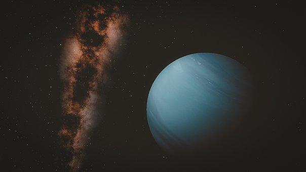 Neptune, Space, Planet, Universe, Earth, Globe