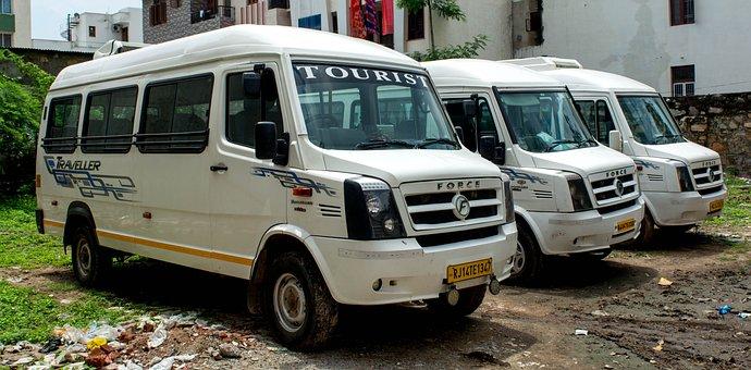Bus, Tempo Traveller, Vehicle, Car, Auto, Automotive
