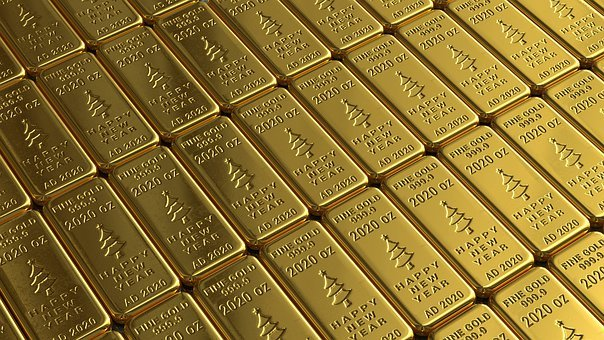 Gold Bars, Bullion, Wallpaper, Gold, Golden, Wealth