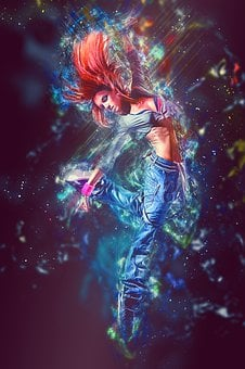 Hip Hop, Dancing, Dancer, Young, Girl, Woman, Female