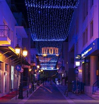 Lights, Christmas, Decoration, Holiday, Xmas, December