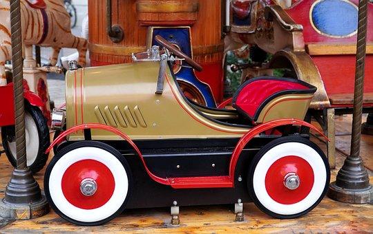 Carousel, Auto, Ride, Children, Year Market