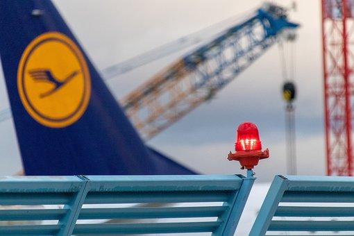 Airport, Lufthansa, Flyer, Aviation