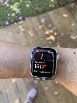 Clock, Apple, Iphone, Technology, Smart, Hand, Gadget