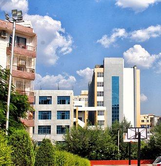 Beautiful, Arc, Architecture, Sky, Building, College