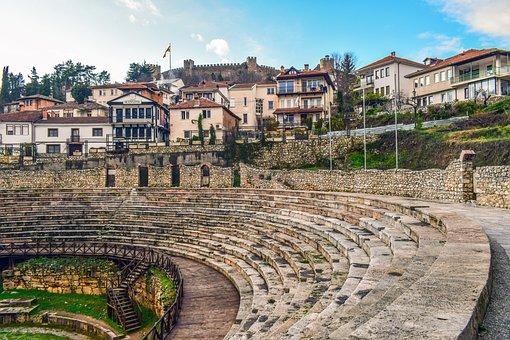 Ohrid, North Macedonia, Town, Architecture