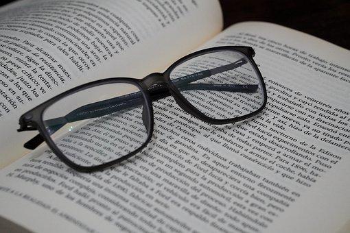 Glasses, Reading, Read, Reading Glasses, Book