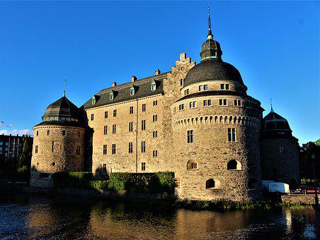 Castle, Stronghold, Fortress, Architecture, Building