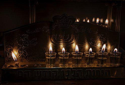 Hanukkah, Mitzvah, Jew, Judaism, Candles, Torah, חנוכה
