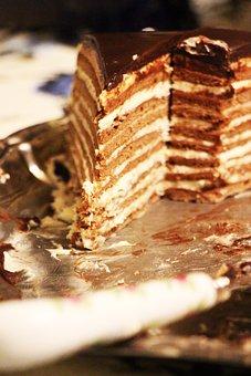 Layer Cake, Chocolate, Cake, Russian, Ukrainian