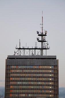 Building, Buildings, Radio, Sat, City, Architecture