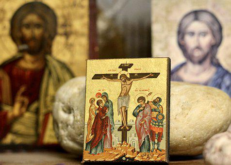 Icon, Religious, Jesus, Cross, Spiritual, God, Symbol