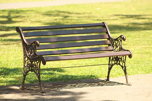 Bench, Park, Autumn, Dream, Wood, Writer, Fall, Think