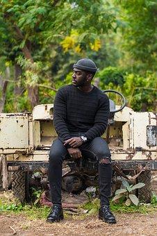 Male, Model, African, Fashion