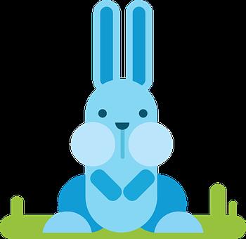 Hare, Animal, Comic, Comic Drawing, Drawing, Flat