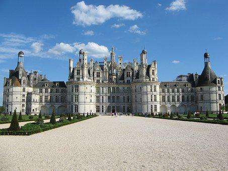 Chambord, Castle, Architecture, Loire, France, Culture