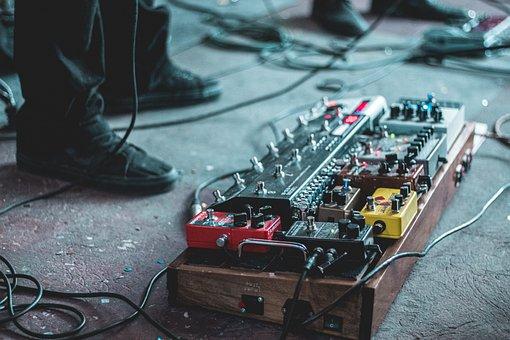 Pedalboard, Guitar, Music, Effects, Intrumentos, Rock